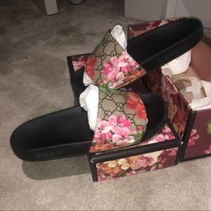 Gucci Floral Slides